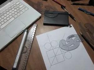 Photo: drafting tools