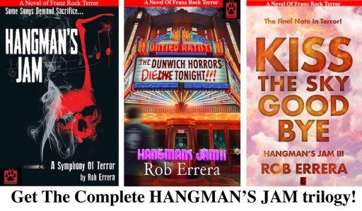 Hangman's Jam trilogy covers