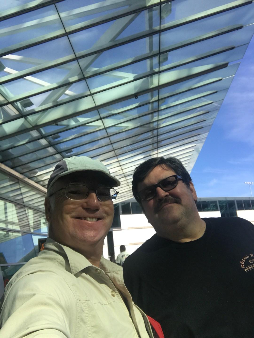 Leaving Portland