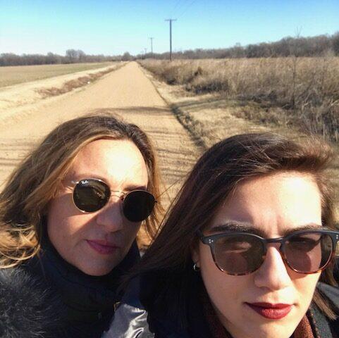 Roberta Finocchiaro e Simona Virlinzi in the USA