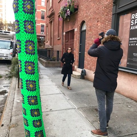 Shooting fotografico in giro per New York (NY)