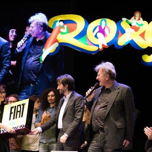 Roberta Finocchiaro - premiazione FIAT MUSIC e ROXY BAR