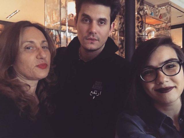 Roberta Finocchiaro, John Mayer e Simona Virlinzi
