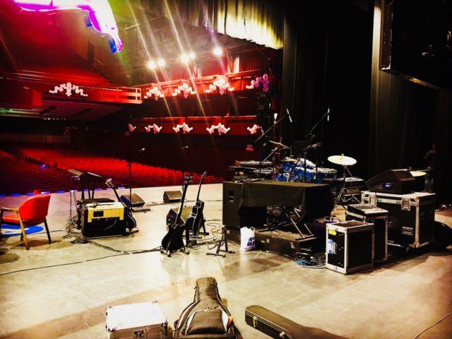 Sanremo Teatro Ariston vista dal palco