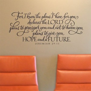 Scripture on Walls