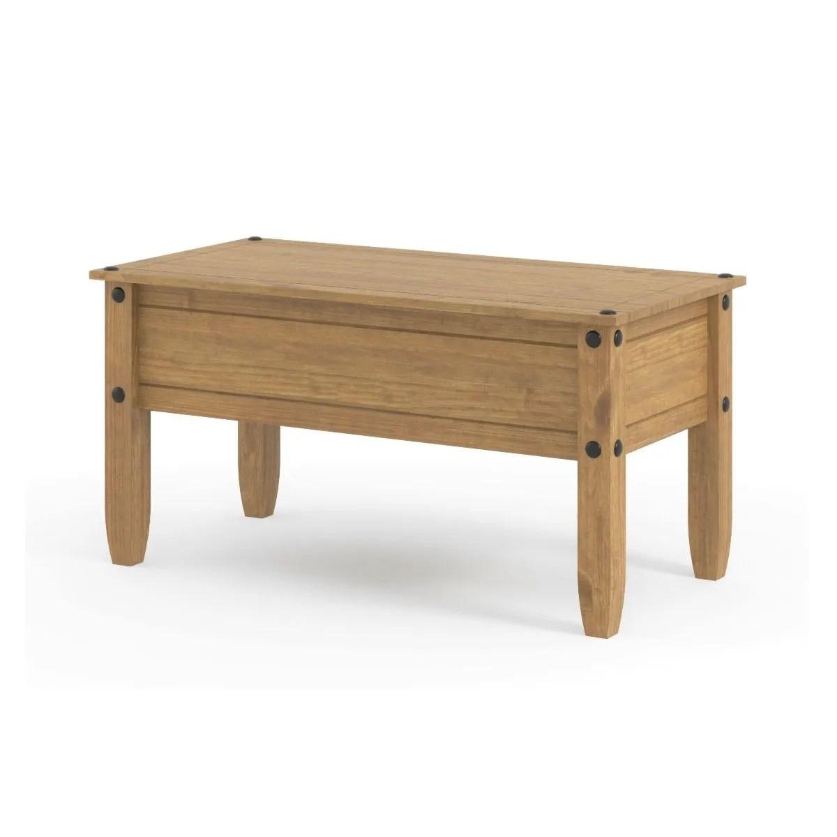 halea pine coffee table