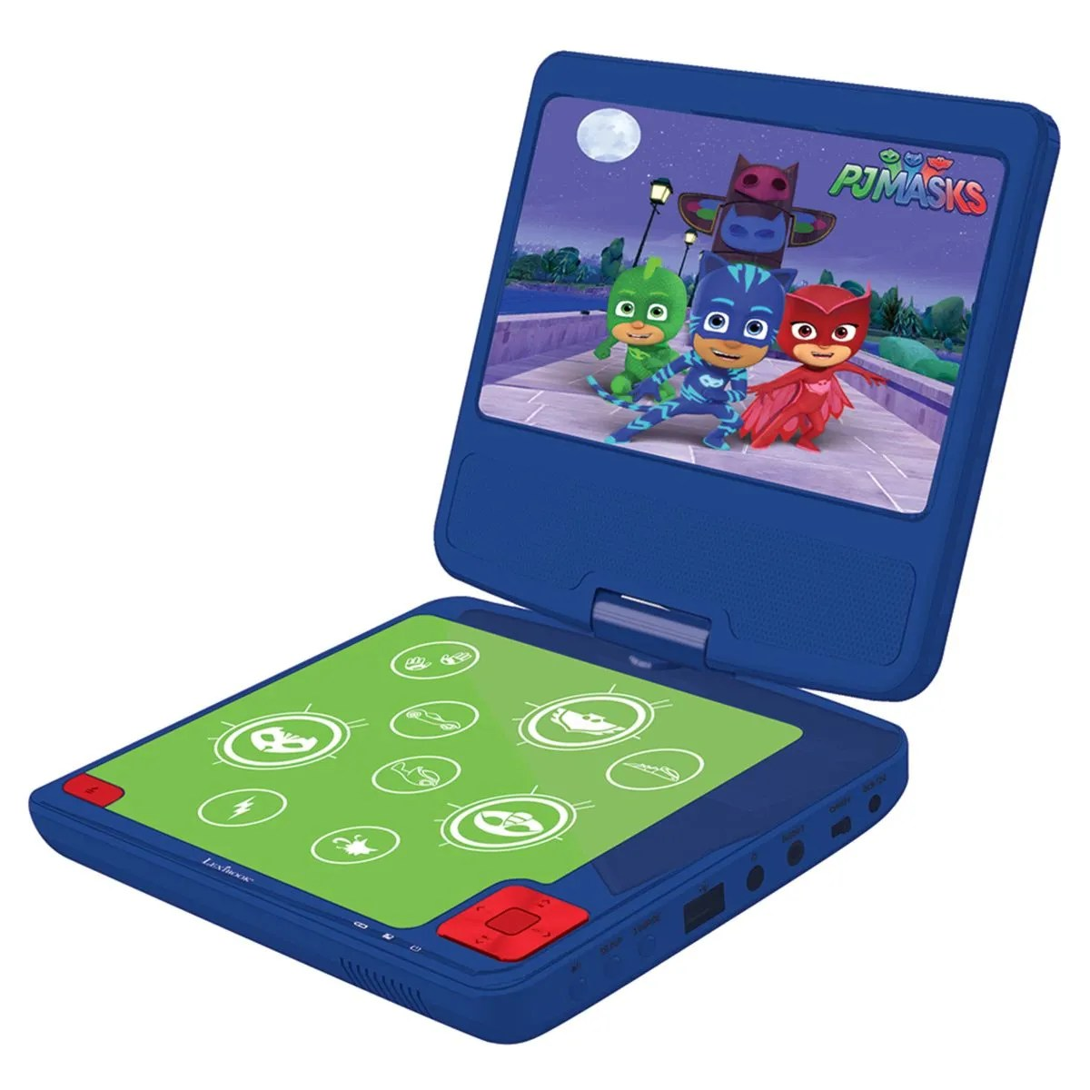 lexibook pj masks portable dvd player