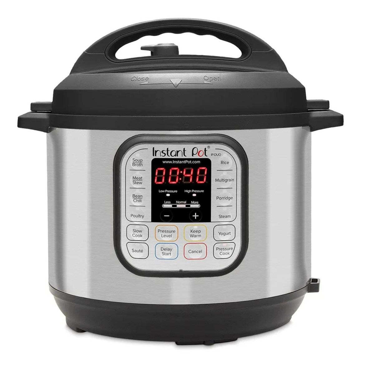 Instant Pot 60 Duo Plus 7-in-1 Multi-Use 5.7L Programmable Pressure Cooker - Stainless Steel