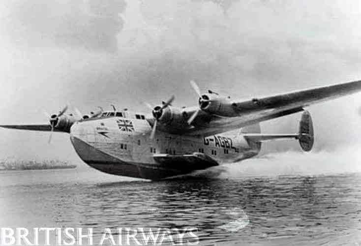 BOAC flying boat