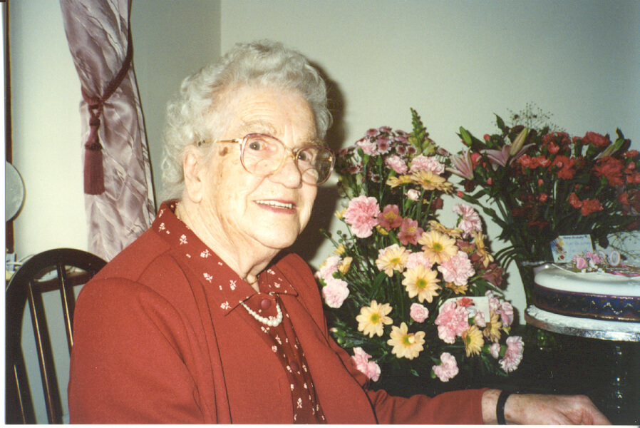 Elsie Hill Chapman in 1996