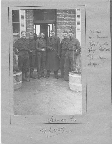 War - 78 REWS France, 1940