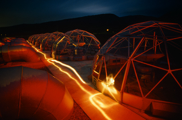 Wales - Bangor - Climate change Solardome  simulators