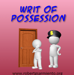 writ-of-possession