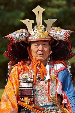 Kyoto Jidai Matsuri 06 (The Festival of the Ages) - A soldier in armor
