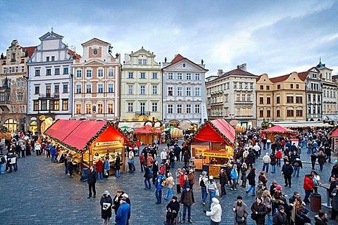 Czech Republic, Prague, Old Town Square, Christmas Market, Christmas, Cities, City, Cityscape, Cityscapes, Color, Colo. Czech Republic, Prague, Old Town Square, Christmas Market, Christmas, Cities, City, Cityscape, Cityscapes, Color, Colo