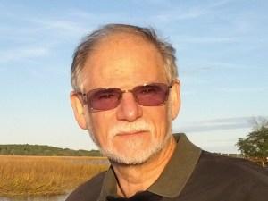 Robert I. Katz on a fishing pier, Hilton Head, SC