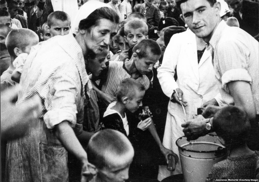 Essensausspeisung Stara Gradiska 1941