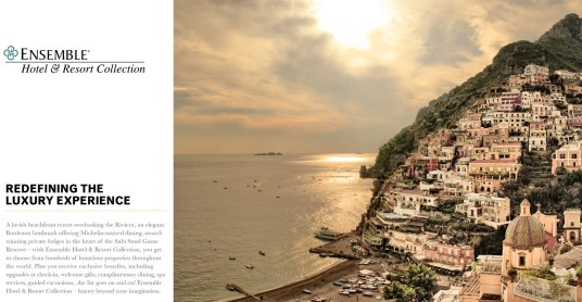 Photograph for Ensemble Hotel & Resort The Luxe Collections of view from Hotel Le Sirenuse,Positano, Italy