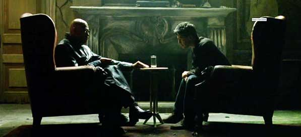 Image result for morpheus and neo the matrix