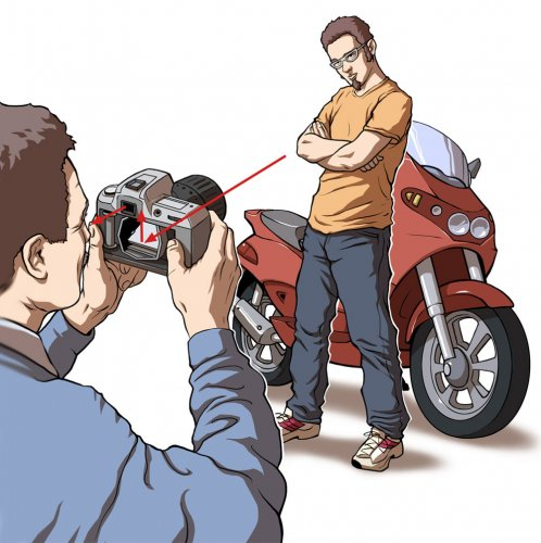 Editorial Illustration - DSLR Camera