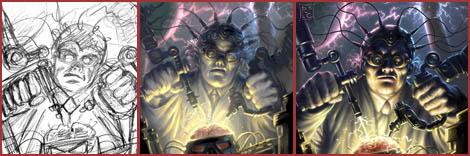 Photoshop & Painter Tutorial : Mad Scientist