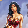 Photoshop  Tutorial: Wonder Woman Pin Up Digital Painting