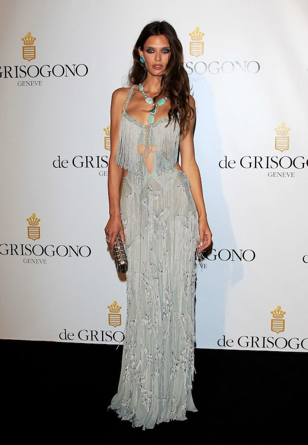 Bianca Balti at the party organised by De Grisogono