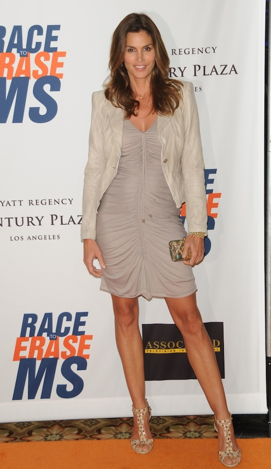 Cincy Crawford in Roberto Cavalli @ 18th Annual Race To Erase MS Event 29-04-2011 Century City CA