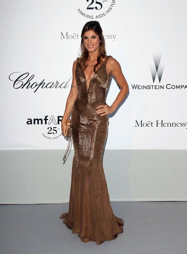 Elisabetta Canalis amfAR Gala - Red Carpet Arrivals - 64th Annual Cannes Film Festival