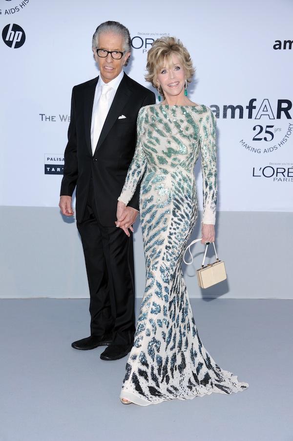 Jane Fonda in Roberto Cavalli @ 2011 amfAR's Cinema Against AIDS Gala 19-05-2011