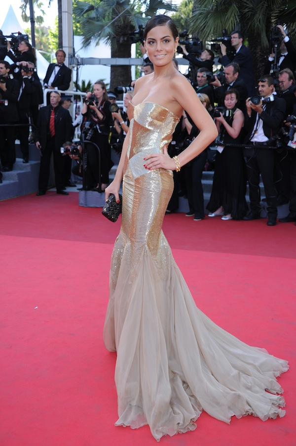 Jimena Navarrete in Roberto Cavalli @ the premiere of Sorrentino film this must be the place during 64th cannes film festival 2011-05-20