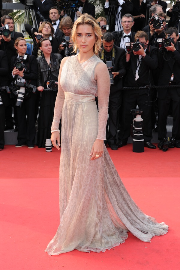 Vahina Giocante in Roberto Cavalli @ Cannes Film Festival 2011 Pirates of the Caribbean On Stranger Tides premiere 14-05-2011
