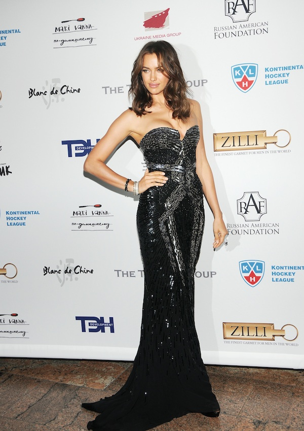Irina Shayk on occasion of the 9th annual Russian Heritage Festival at The Metropolitan Museum of Art held in New York City