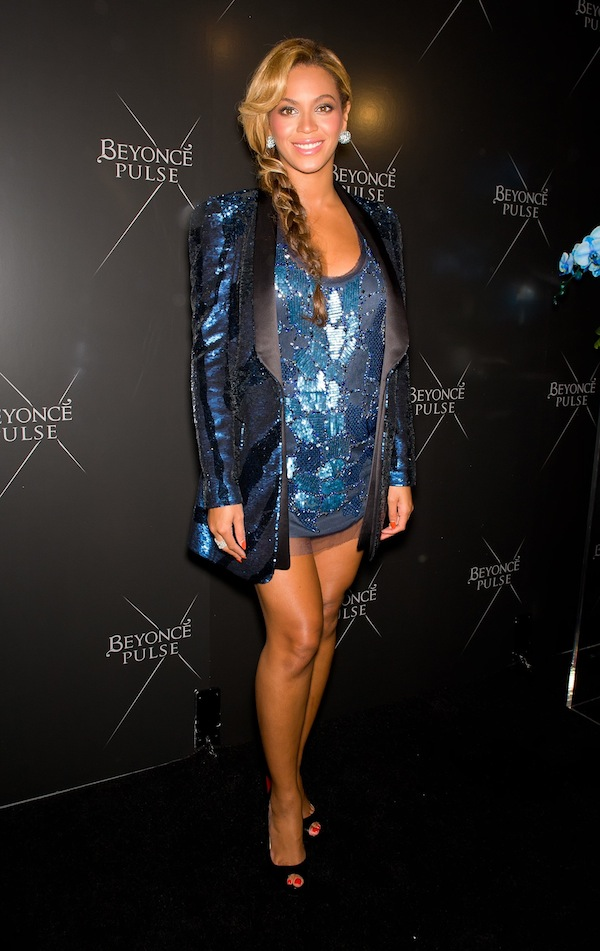 Beyoncé in Roberto Cavalli at Pulse Fragrance Launch