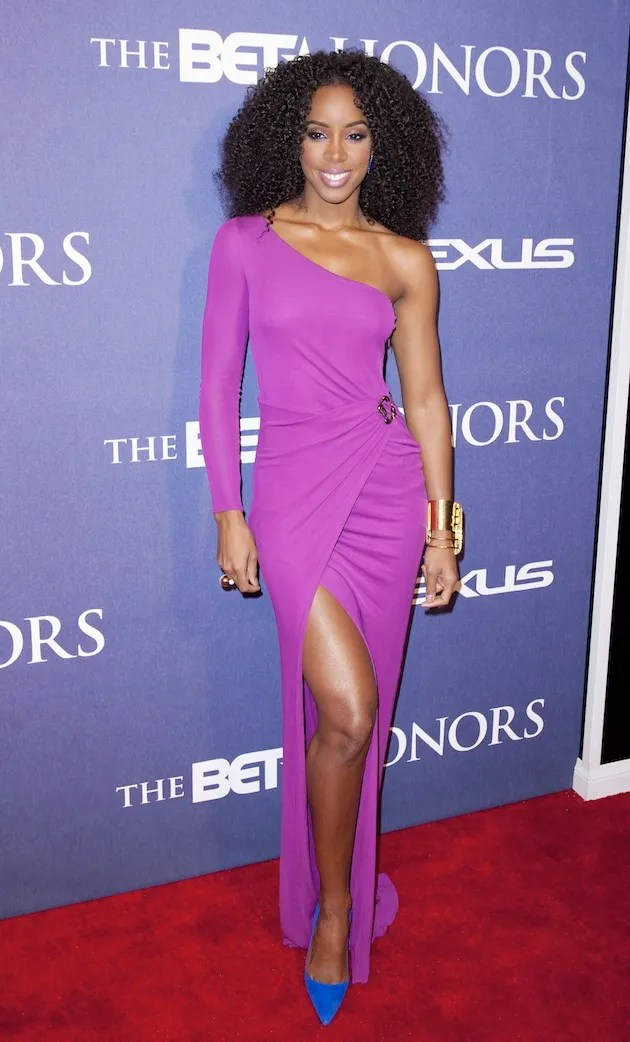 Kelly Rowland in Roberto Cavalli at the 2012 BET Honors