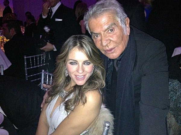 ...with Elizabeth Hurley