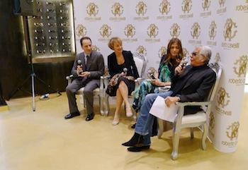 Roberto Cavalli Parfum -  press conference
