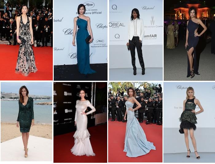 Celebrities in Roberto Cavalli