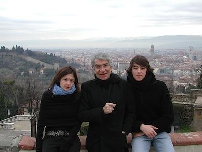 Rachele, Roberto and Daniele Cavalli