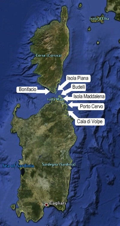 Corsica - Sardegna