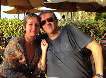 Anna and Daniele Corvasce