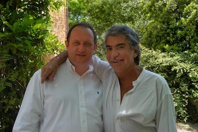 Roberto Cavalli with Giorgio Verzoletto