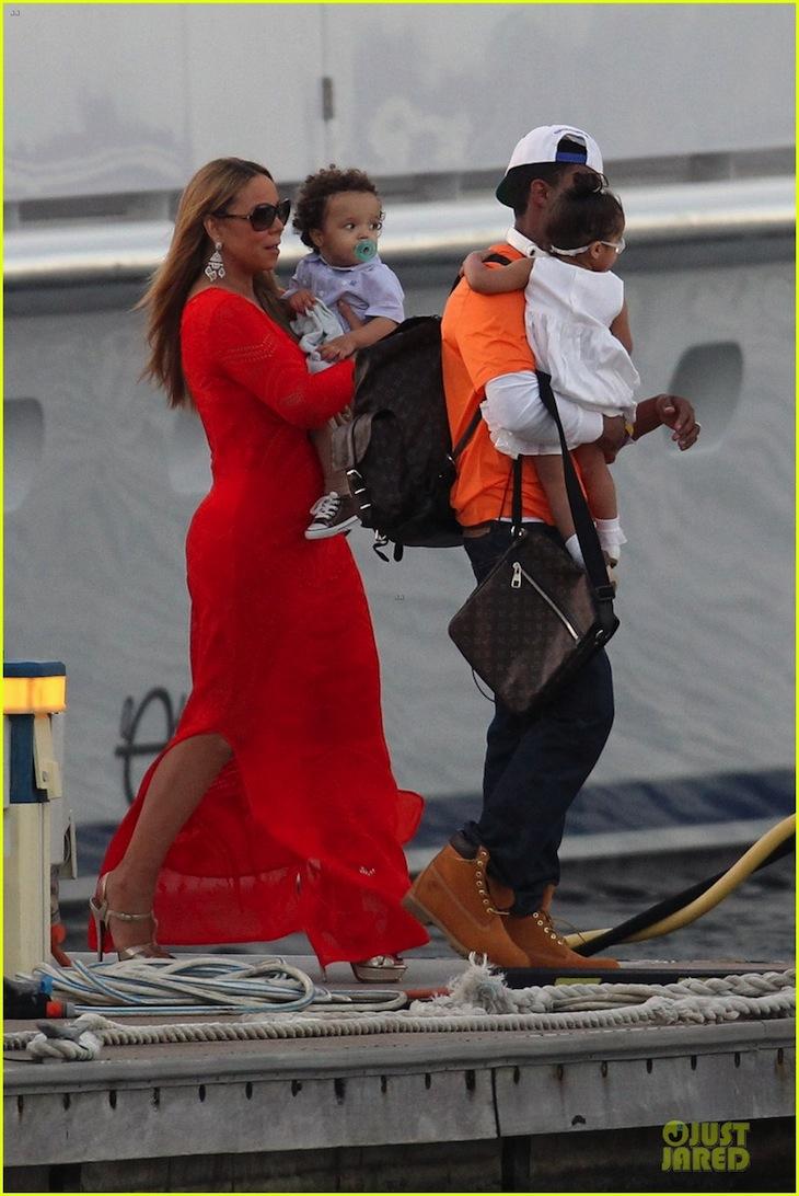 Mariah Carey in Roberto Cavalli