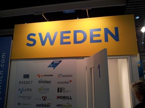 Sweden @ MWC 2013