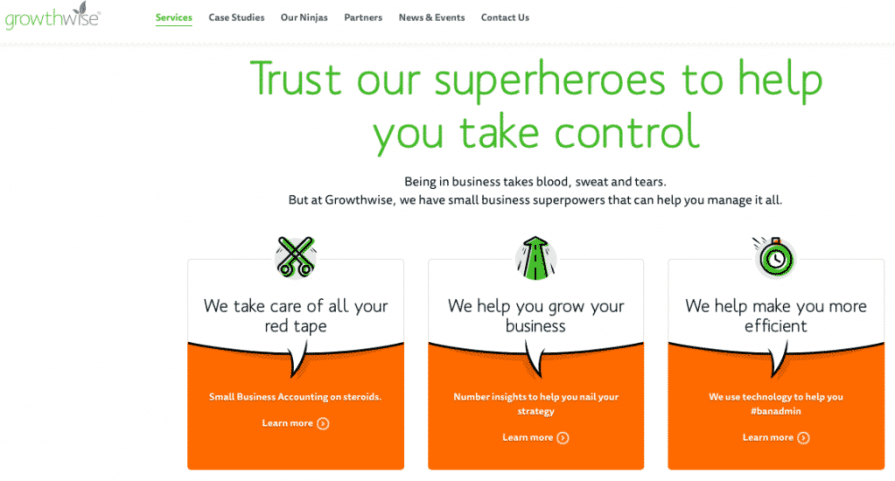 Trust our superheroes to help you take control