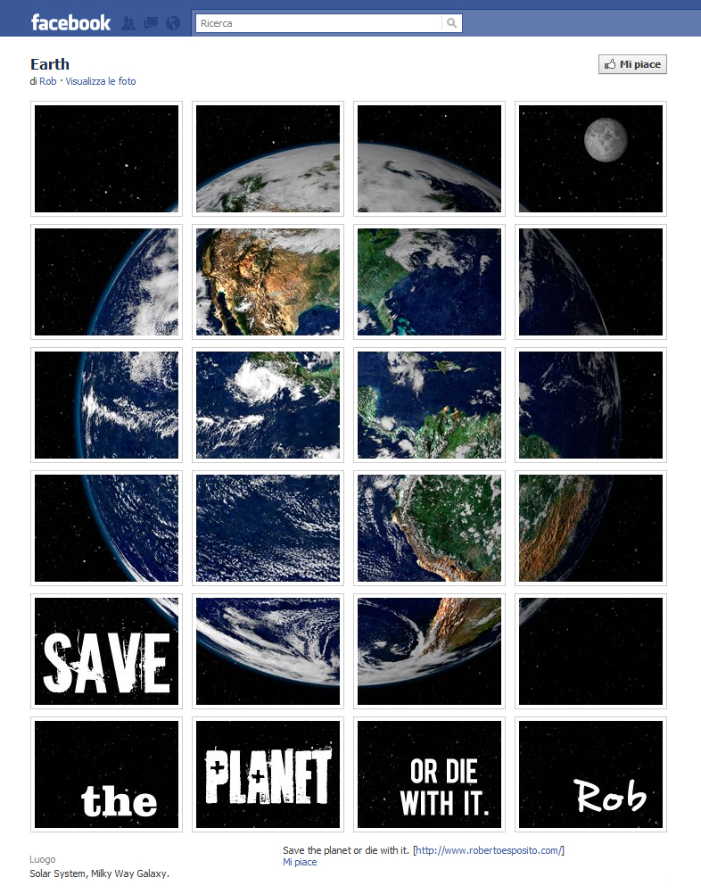 Roberto Esposito - Earth save the planet or die with it