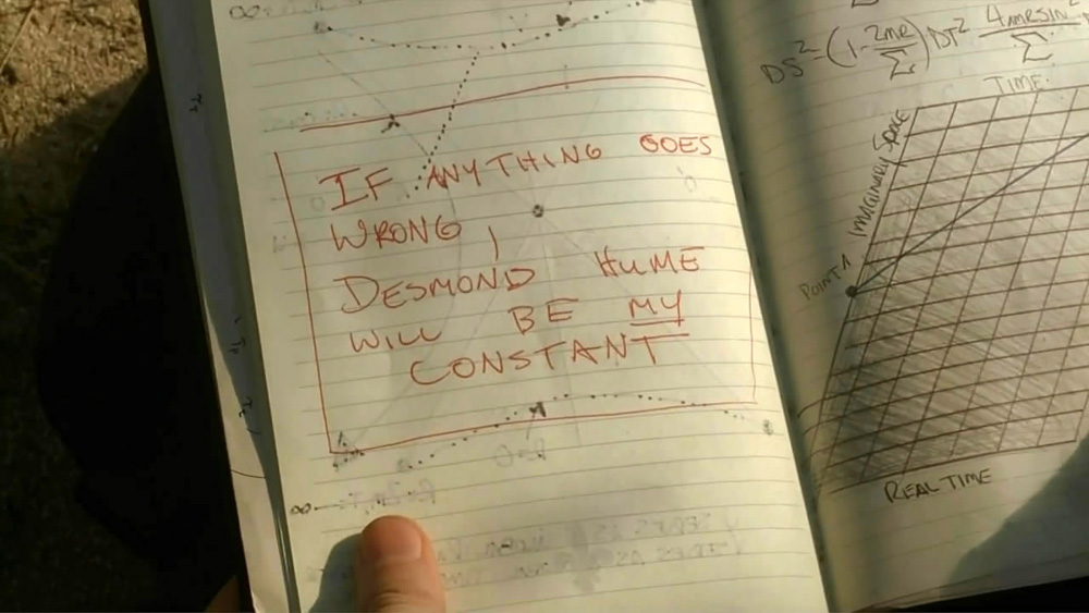 Roberto Esposito - If anything goes wrong Desmond Hume will be my constant
