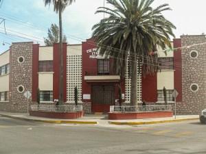 Escuela primaria Justo Sierra, construida entre los años 1928 y 1930 en Progreso de Obregón, Hidalgo.