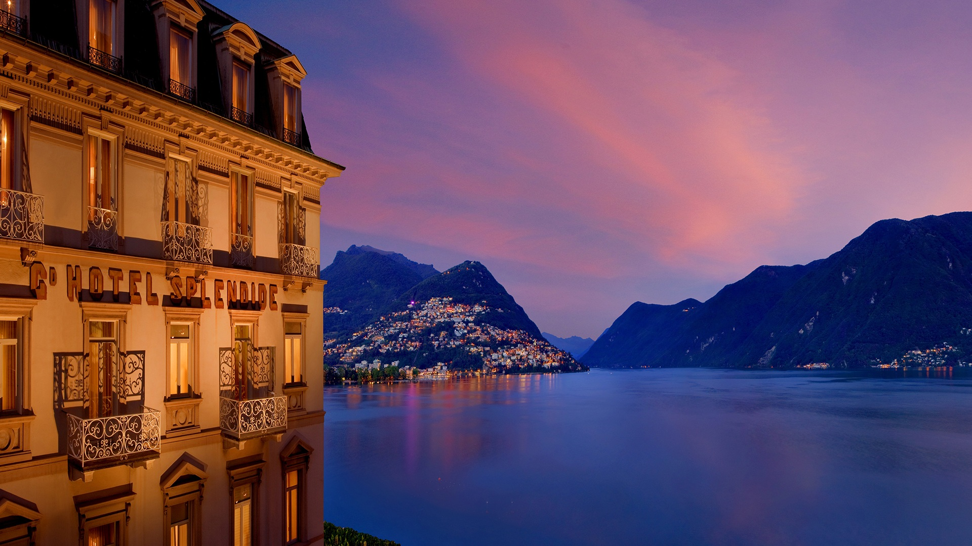 Welcome To The Hotel Splendide Royal Lugano Official