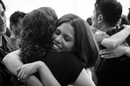 Quanto fa bene abbracciare